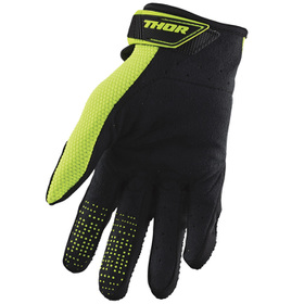 Gants cross Thor Spectrum Acid Fluo 2021 Paume