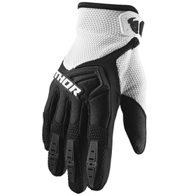 Gants cross Thor Spectrum Noir-Blanc 2021
