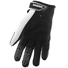 Gants cross Thor Spectrum Noir-Blanc 2021 Paume