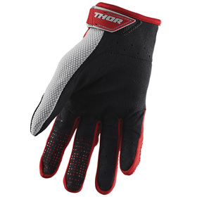 Gants cross Thor Spectrum Rouge 2021 Paume