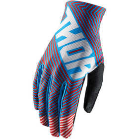 Gants cross Thor Void Geotec Bleu