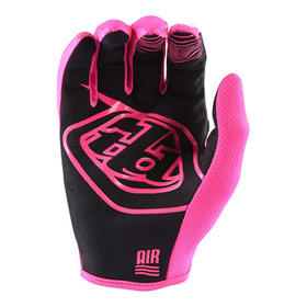 Gants cross Troy Lee Designs Air Rose Fluo 2020 Paume