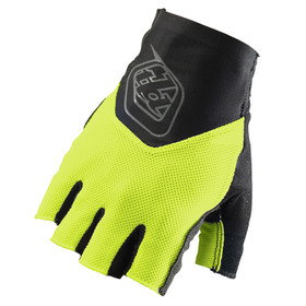 Gants Troy Lee Designs Ace Fingerless Jaune Fluo