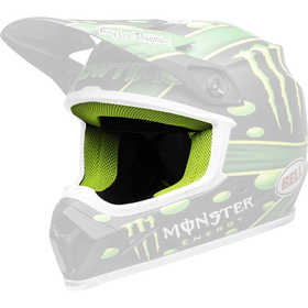 Interieur de casque Moto cross - Bell MX 9 -Mc Graph Showtime Replica