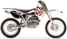 Kit complet One Industries Factory White YZF 250 06-09