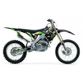 Kit déco 2012 MONSTER One Complet - Honda CRF450 07-08