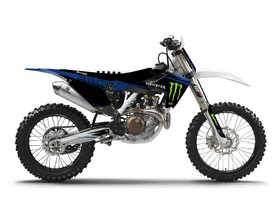Kit déco D'Cor Visuals Husqvarna Monster Energy