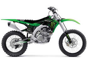 Kit déco D'Cor Visuals Kawasaki Monster Energy