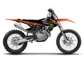 Kit déco D'Cor Visuals KTM Monster Energy