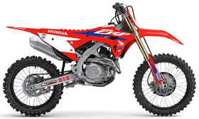 Kit déco HRC Officiel 2021 - D'Cor Visual - HONDA CRF 250 et 450