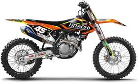 Kit deco KTM Enjoy - Hitachi - SX et SX-F