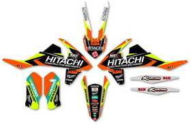 Kit deco KTM Enjoy - Hitachi - SX et SX-F - Zoom