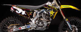 Kit déco Rockstar Energy One Ind. 2012