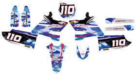 Kit-deco-Yamaha-YZ-125-250-Camo-Mx-Stickers-Bleu