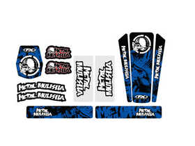 Kit universel Metal Mulisha FX Bleu