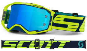Masque cross Scott Prospect Bleu / Jaune 2020