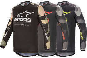 Maillot cross Alpinestars Racer Tactical 2021