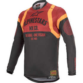 Maillot cross Alpinestars Racer Tech Flagship Bordeaux 2020