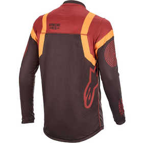 Maillot cross Alpinestars Racer Tech Flagship Bordeaux 2020 Dos