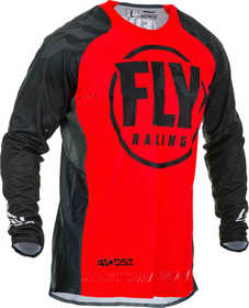 Maillot cross Fly Evolution DST Rouge 2020