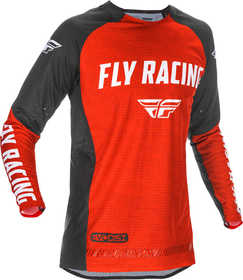 Maillot cross Fly Evolution DST Rouge 2021