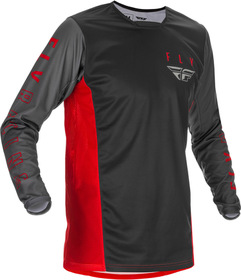 Maillot cross Fly Kinetic K121 Rouge 2021