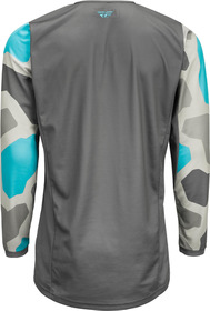 Maillot cross Fly Kinetic K221 Gris 2021 Dos