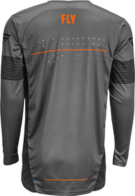 Maillot cross Fly Lite Hydrogen Gris 2021 Dos