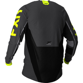 Maillot cross FXR Podium Off-Road Jaune 2021 Dos