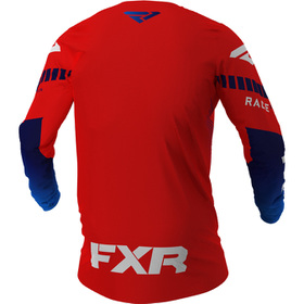 Maillot cross FXR Revo Rouge 2021 Dos