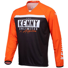 Maillot cross Kenny Performance Solid Black 2021