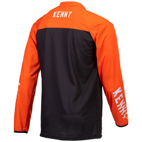 Maillot cross Kenny Performance Solid Black 2021 Dos