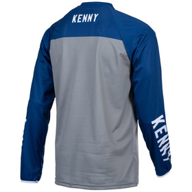 Maillot cross Kenny Performance Solid Navy 2021 Dos