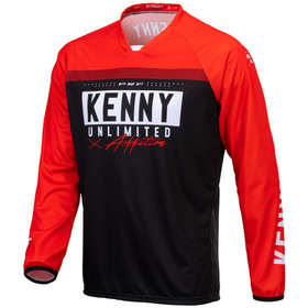 Maillot cross Kenny Performance Solid Red 2021