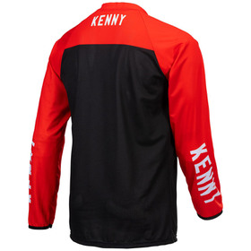 Maillot cross Kenny Performance Solid Red 2021 Dos
