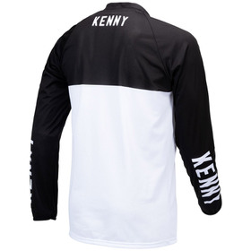 Maillot cross Kenny Performance White Black 2021 Dos