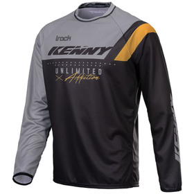 Maillot cross Kenny Track Focus Black Grey Gold 2021