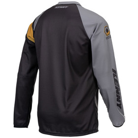 Maillot cross Kenny Track Focus Black Grey Gold 2021 Dos