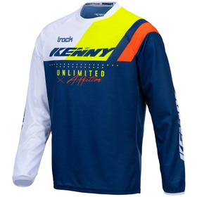 Maillot cross Kenny Track Focus Navy Neon Yellow 2021