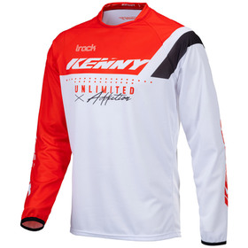 Maillot cross Kenny Track Focus Red 2021