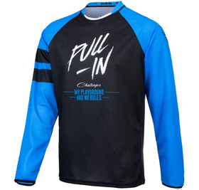 Maillot cross Pull-In Challenger Original Solid Blue Black 2021