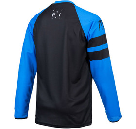 Maillot cross Pull-In Challenger Original Solid Blue Black 2021 Dos