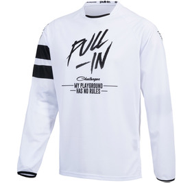 Maillot cross Pull-In Challenger Original Solid White 2021