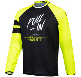 Maillot cross Pull-In Challenger Original Solid Yellow Black 2021