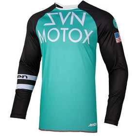 Maillot cross Seven Annex Force Aqua 19.2