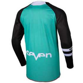 Maillot cross Seven Annex Force Aqua 19.2 Dos