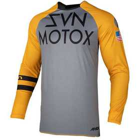 Maillot cross Seven Annex Force Orange 19.2