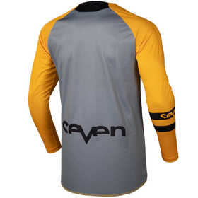 Maillot cross Seven Annex Force Orange 19.2 Dos
