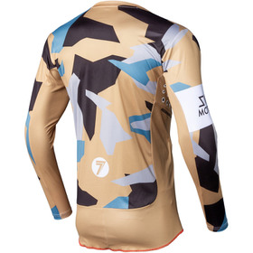 Maillot cross Seven Rival Trooper 2 Sand 2020 Dos