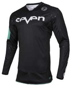 Maillot cross Seven Rival Trooper Noir 2019